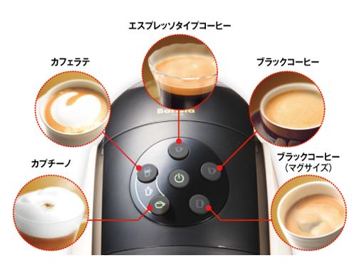 バリスタのコーヒーメニュー